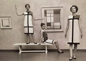 Retro-Look von Yves Saint Laurent 1965
