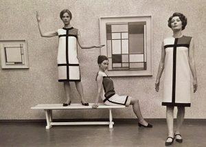 Retro-Look von Yves Saint Laurent 1965
