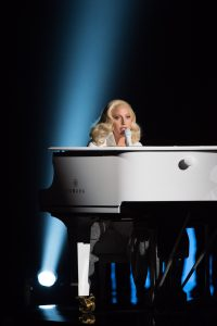 Oscar®-nominee Lady Gaga performs during the live ABC Telecast of The 88th Oscars® at the Dolby® Theatre in Hollywood, CA on Sunday, February 28, 2016.