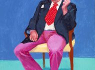 "David Hockney und seine ""Freunde"" in der Royal Academy of Arts"